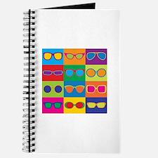 Sunglasses Checkerboard Journal