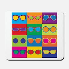 Sunglasses Checkerboard Mousepad