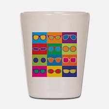 Sunglasses Checkerboard Shot Glass
