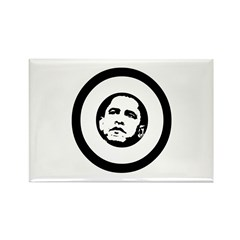 Obama 2008: O Rectangle Magnet