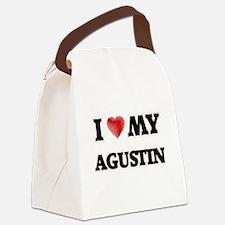 I love my Agustin Canvas Lunch Bag