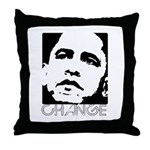 Obama 2008: Change Throw Pillow