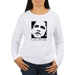 Obama 2008: Change Women's Long Sleeve T-Shirt