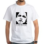 Obama 2008: Change White T-Shirt