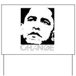 Obama 2008: Change Yard Sign