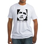 Obama 2008: Change Fitted T-Shirt