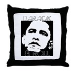 Obama 2008: Barack & Roll Throw Pillow