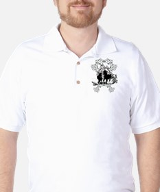 Awesome horses silhouette T-Shirt