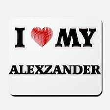 I love my Alexzander Mousepad