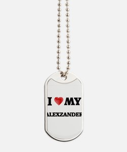 I love my Alexzander Dog Tags