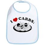 I Love Carbs! Bib
