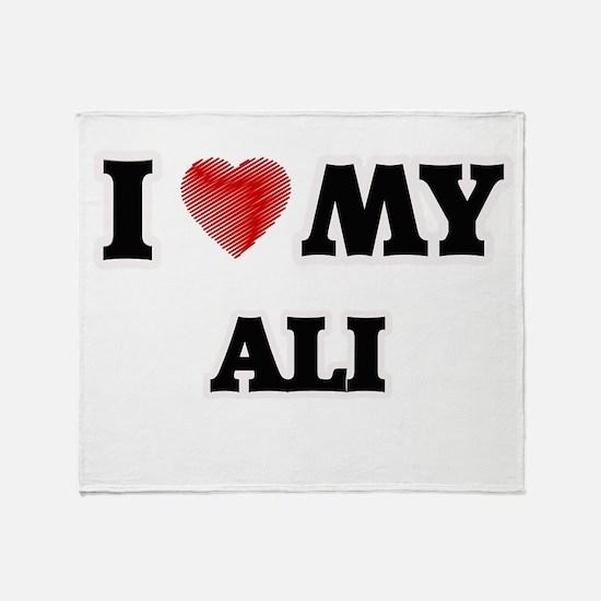 I love my Ali Throw Blanket