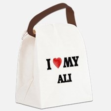 I love my Ali Canvas Lunch Bag