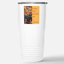 Wonderfully made by God Travel Mug