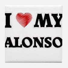 I love my Alonso Tile Coaster