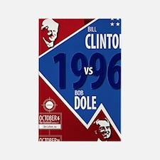 Unique Clinton 1996 Rectangle Magnet