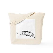 Asian Tiger Tote Bag