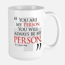 You Are My Person Large Mug