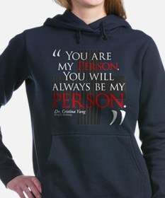 You Are My Person Woman's Hooded Sweatshirt