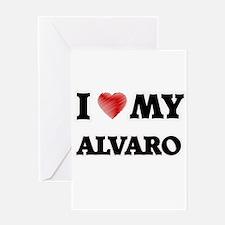 I love my Alvaro Greeting Cards