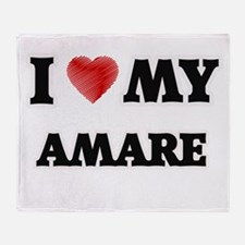 I love my Amare Throw Blanket
