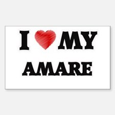 I love my Amare Decal