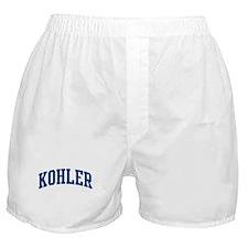 KOHLER design (blue) Boxer Shorts