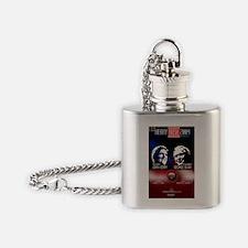 Unique George bush Flask Necklace