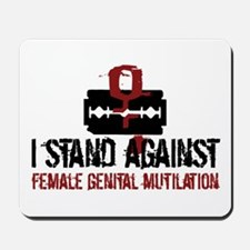 Female Circumcision Mousepad