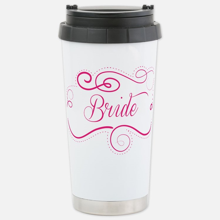 Cute Baseball bride Travel Mug