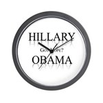 Hillary / Obama: Got Hope? Wall Clock