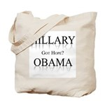 Hillary / Obama: Got Hope? Tote Bag