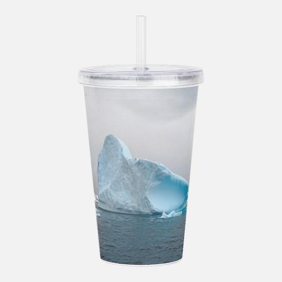 Iceburg Blue Acrylic Double-wall Tumbler