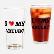 I love my Arturo Drinking Glass