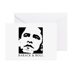 Barack & Roll Greeting Cards (Pk of 10)