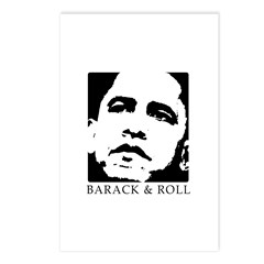 Barack & Roll Postcards (Package of 8)