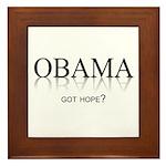 Got Hope? Framed Tile
