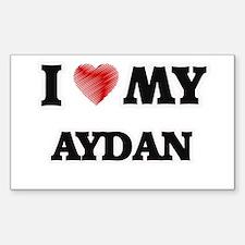 I love my Aydan Decal