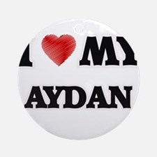 I love my Aydan Round Ornament