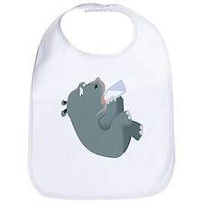 Baby Hippo Bib