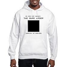 Quad Laser Hooded Sweatshirt