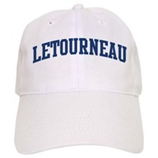 LETOURNEAU design (blue) Baseball Cap