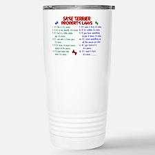 Cute Skye terrier Travel Mug