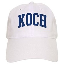 KOCH design (blue) Baseball Cap