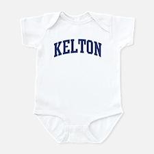 KELTON design (blue) Infant Bodysuit