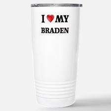 I love my Braden Stainless Steel Travel Mug