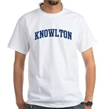 KNOWLTON design (blue) Shirt