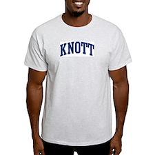 KNOTT design (blue) T-Shirt