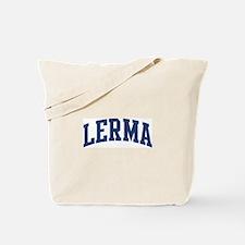LERMA design (blue) Tote Bag