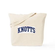KNOTTS design (blue) Tote Bag